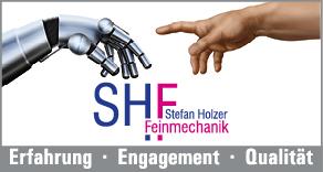 Logo Holzer Feinmechanik Bild: Holzer Feinamechanik